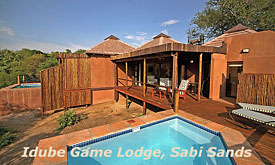 Idube Game Lodge, Luxury Safari Lodge in Sabi Sands, Private Plunge Pool