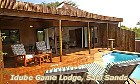Idube Game Lodge, Luxury Safari Lodge