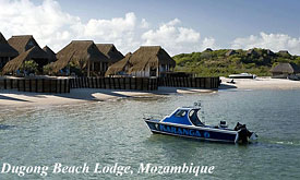 Dugong Beach Lodge, Mozambique Beach Holidays, Mozambique Vacation Packages