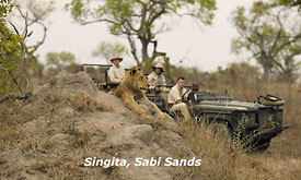 Kruger Park Safari Vacation, Singita Boulders Lodge