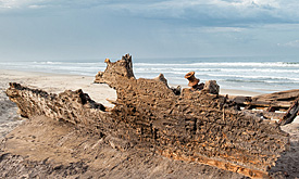 The Skeleton Coast National Park