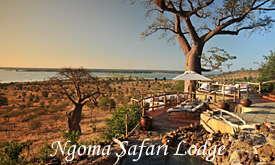 Ngoma Safari Lodge, Botswana, Holiday Packages in Victoria Falls