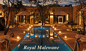 Kruger Park Safaris, Royal Malewane Safari Lodge