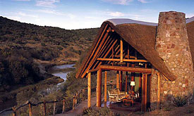 Kwandwe Great Fish River Lodge, overlooking the Great Fish River