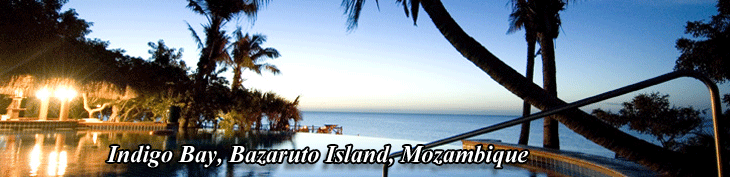 Indigo Bay is A luxury island resort located on the Bazaruto Archipelago in Mozambique