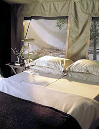 Botswana Safari Vacation, Chobe Under Canvas